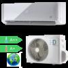 Kép 1/3 - HD  HDWI-MAXIMUS-96D / HDOI-MAXIMUS-96D (beltéri +kültéri egység) Oldalfali split klíma (MAXIMUS) 2,5 kW, Hősziv,Inverteres, R32