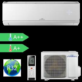 FISHER FSAI-CP-120BE3  (kültéri + beltéri egység) Oldalfali split klíma 3,5 kW, Hősz, Inverter, R32, WIFI