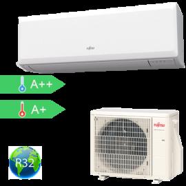 FUJITSU ASYG07KPCA/AOYG07KPCA (kültéri + beltéri egység) Oldalfali split klíma 2.0 kW Hősz. Inver. R32