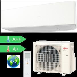 FUJITSU ASYG09KETA/AOYG09KETA (kültéri + beltéri egység) Oldalfali split klíma (Fehér)2.5 kW Hősz. Inver. R32