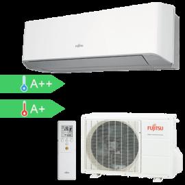 FUJITSU ASYG14LMCE/AOYG14LMCE (kültéri + beltéri egység) Oldalfali split klíma 4,0 kW, Hősziv.Inverter,R410A