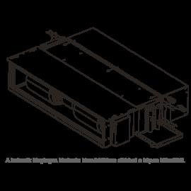 GALLETTI  MDF3V  kiegészítő hőcserélő PWN 33-34-36-hoz