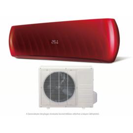 HD  HDWI-DSGN-90C-RED/HDOI-DSGN-90C (beltéri +kültéri egység) Oldalfali split klíma (DESIGN-RED) 2,5 kW, Hősziv,Inverteres, R410A