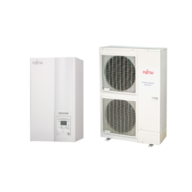 Fujitsu Waterstage HP14/3F (WSYK160DG9 / WOYK140LCTA) levegő-víz hőszivattyú 13.5 kW