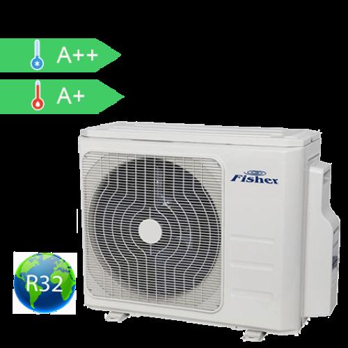FISHER FS2MIF-143BE3 (kültéri egység) Multi inv.klíma kültéri egység 4,1 kW, Hősziv ,inverter R32
