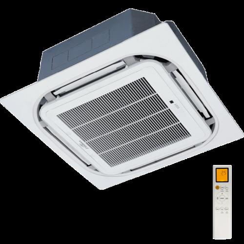 FISHER FSKIF-360CE3/FSOIF-360CE3-3F (beltéri +kültéri egys + panel) Kazettás split klíma 10,5 kW, Inverter,Hösziv., R32, 400V