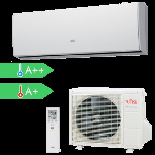 FUJITSU ASYG07LUCA/AOYG07LUCA (kültéri + beltéri egység) oldalfali split klíma 2 kW Hősziv, Inverter, R410A
