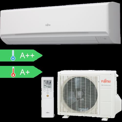 FUJITSU ASYG30LMTA/AOYG30LMTA (kültéri + beltéri egység) Oldalfali split klíma 8,0 kW, Hősziv.Inverter,R410A
