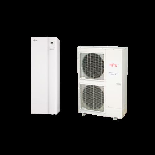 Fujitsu Waterstage HPDUO 11/3F (WGYK160DG9 / WOYK112LCTA) levegő-víz hőszivattyú 10.8 kW