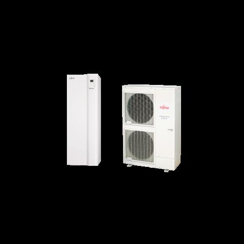 Fujitsu Waterstage HPDUO 16/3F (WGYK160DG9 / WOYK160LCTA) levegő-víz hőszivattyú 15.2 kW