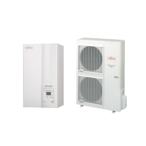 Fujitsu Waterstage HP 14 / 1F High Power V2 (WSYG140DG6 / WOYG140LCTA) levegő-víz hőszivattyú 13.5 kW